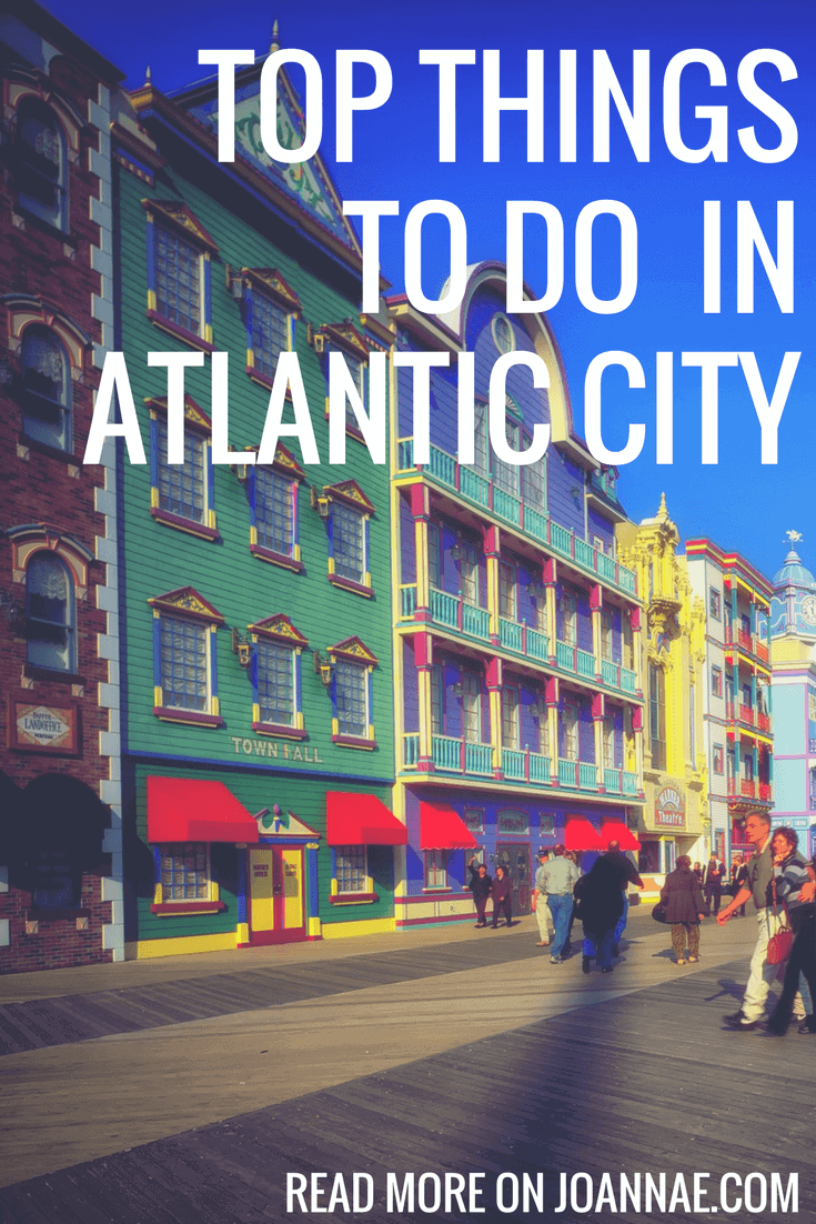 Things to do on an Atlantic City Day trip