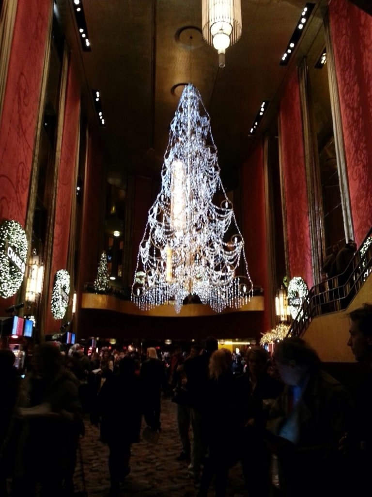 Radio City Christmas Spectacular Chandelier