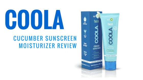 Coola Cucumber Sunscreen Moisturizer Review