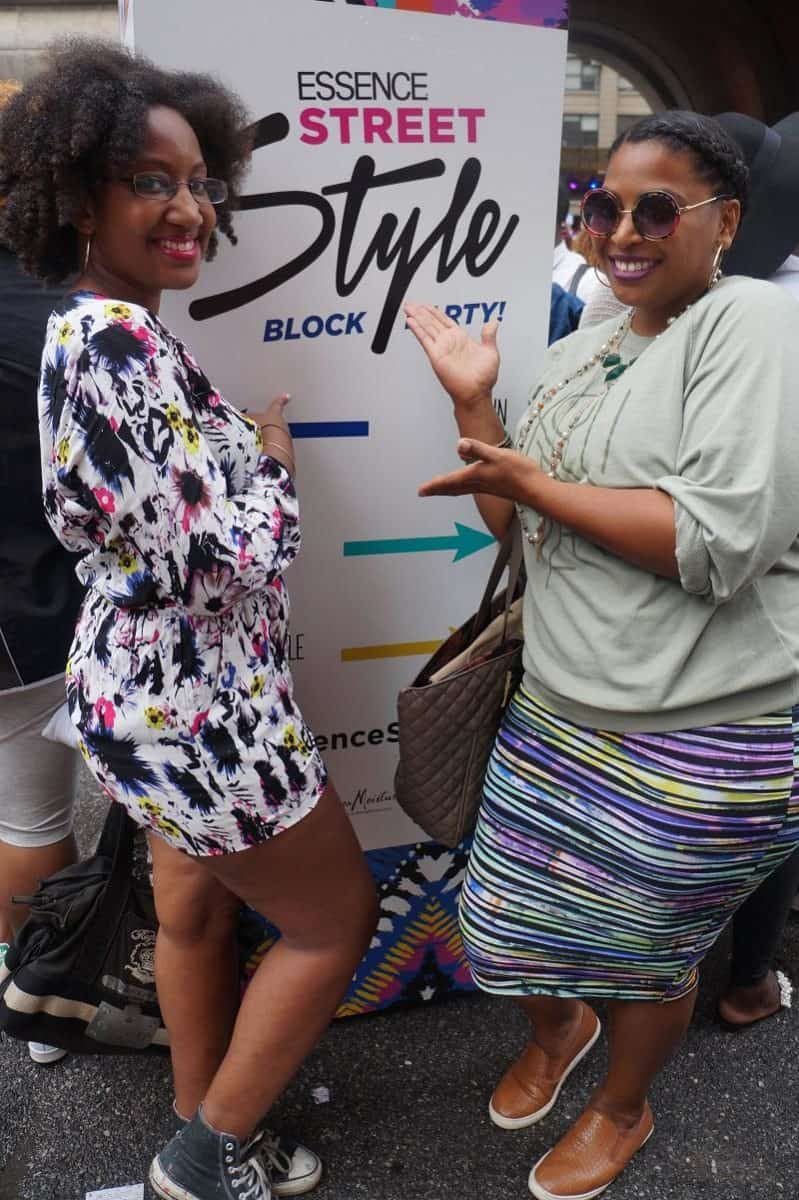 essence street style block party look