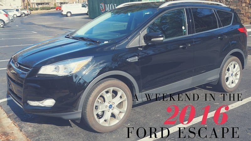 a weekend in the 2016 ford escape joanna. Black Bedroom Furniture Sets. Home Design Ideas