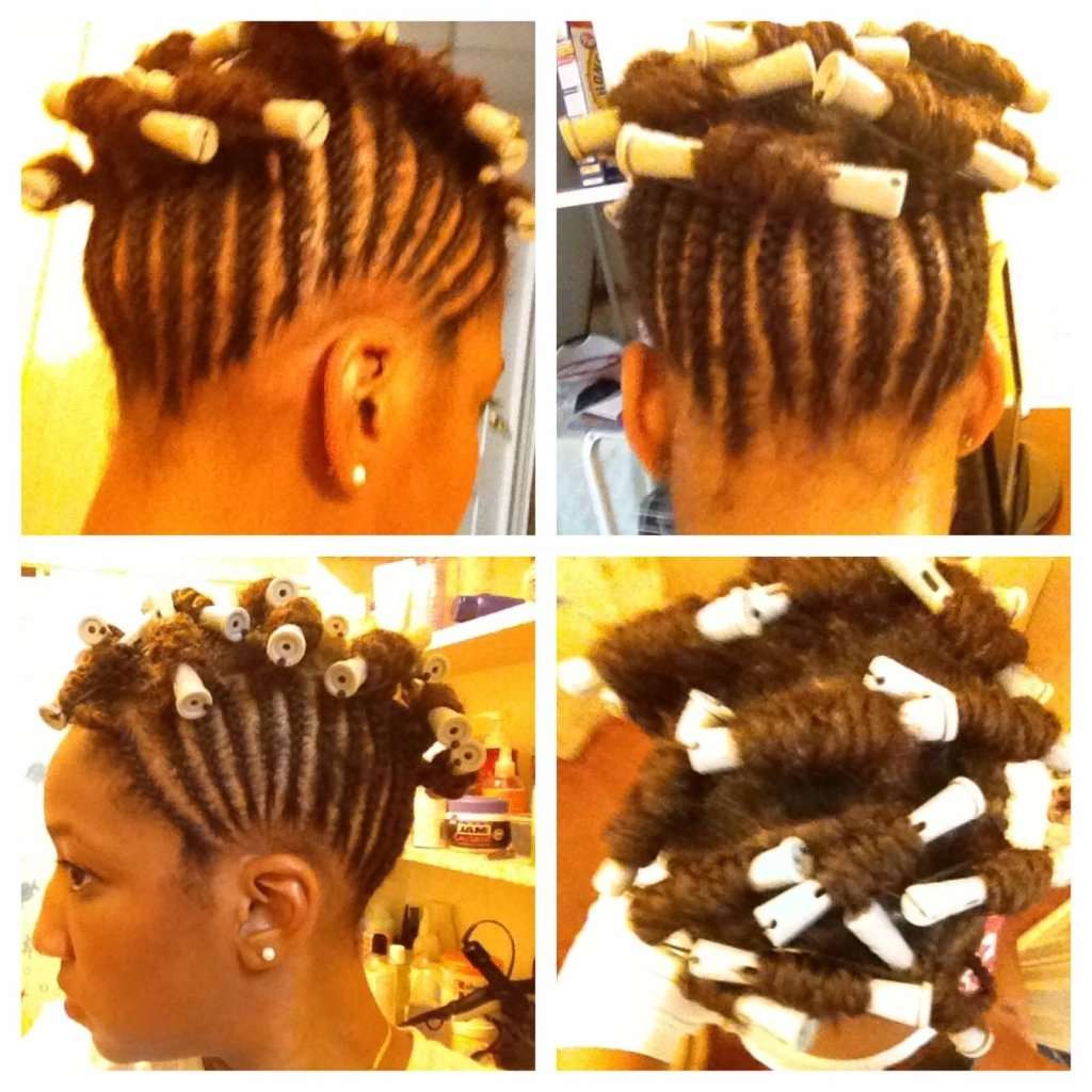 Caribbean Carnival Hairstyles- Braided Updo