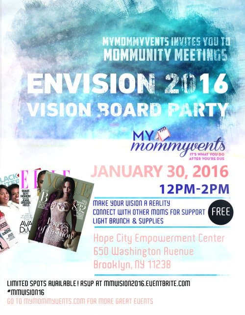 Envision 2016 Vision Board Party