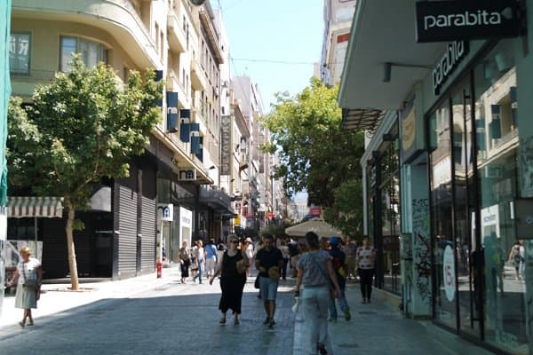 Shopping in Plaka
