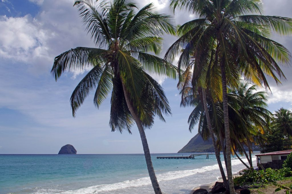 Top Things to Do in Martinique: Visit Diamond Beach