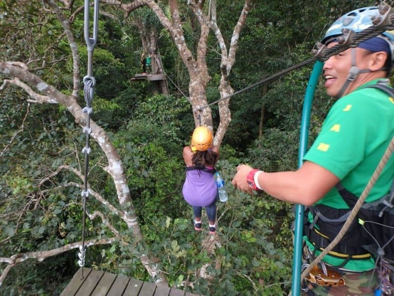 Zipline with Flight of the Gibbon Bangkok