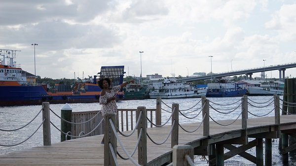 Views of the Nassau harbour at the Warwick Bahamas