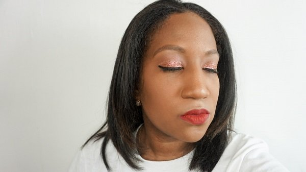 pur quick pro glitters on eyes