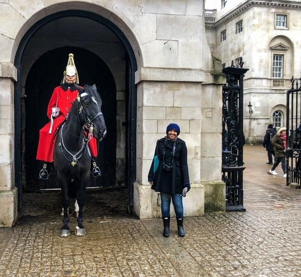 London Itinerary Horse Guards