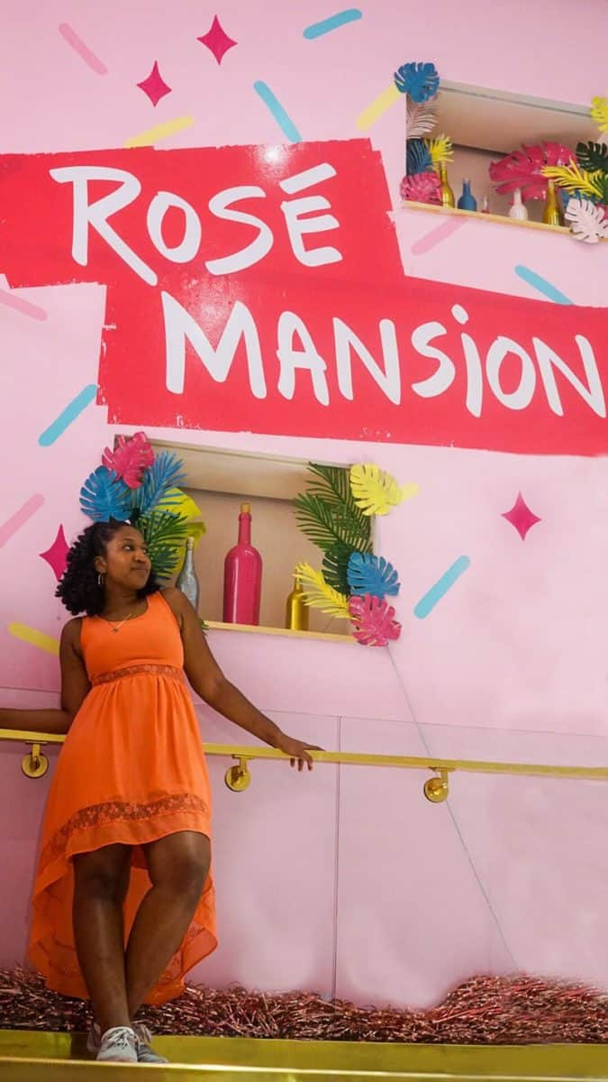 A Look inside the Rose Wine Mansion NYC