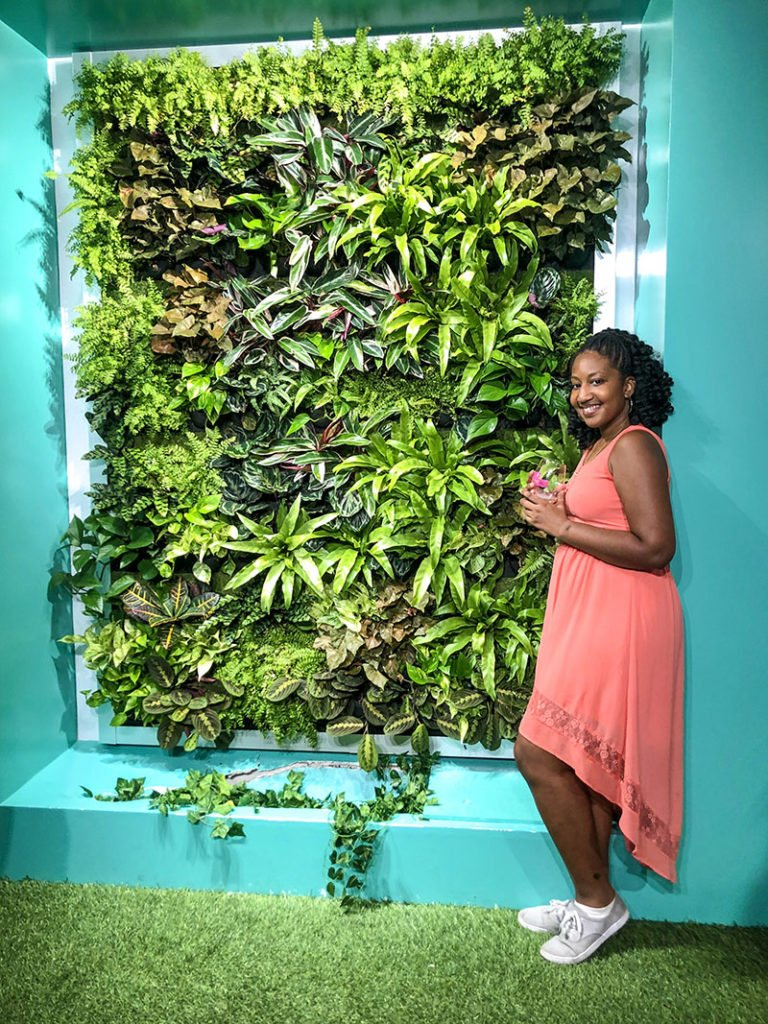 Rose mansion nyc living wall