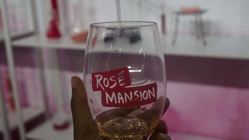 Rose wine mansion -make my own blend