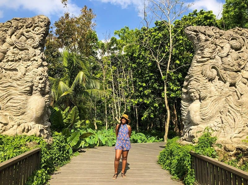 places to take photos in Bali - Ubud Monkey Forest