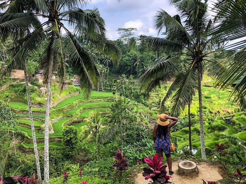 Instagrammable places in Bali - Tegalalang Rice in Bali