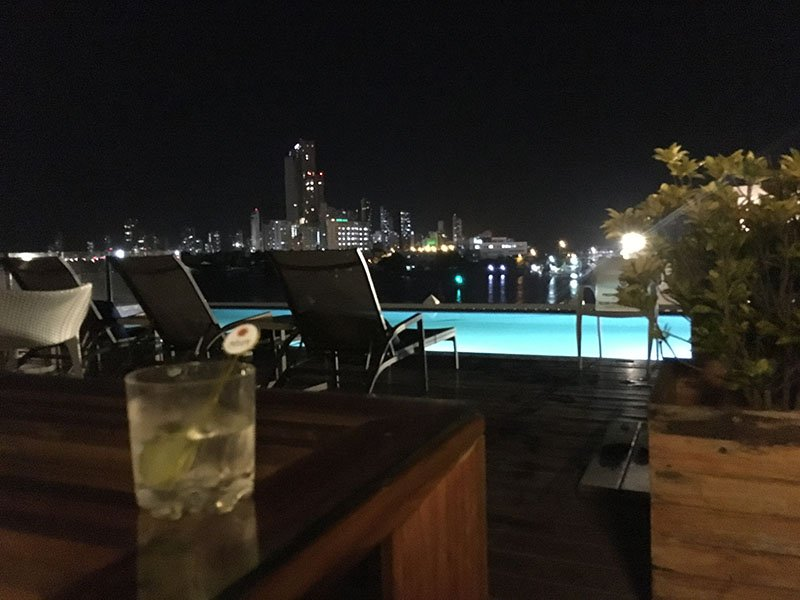 Rooftop Terrace at Allure Chocolat