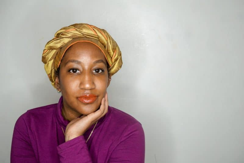 Easy Headwrap Styles for natural hair - the twisted crown