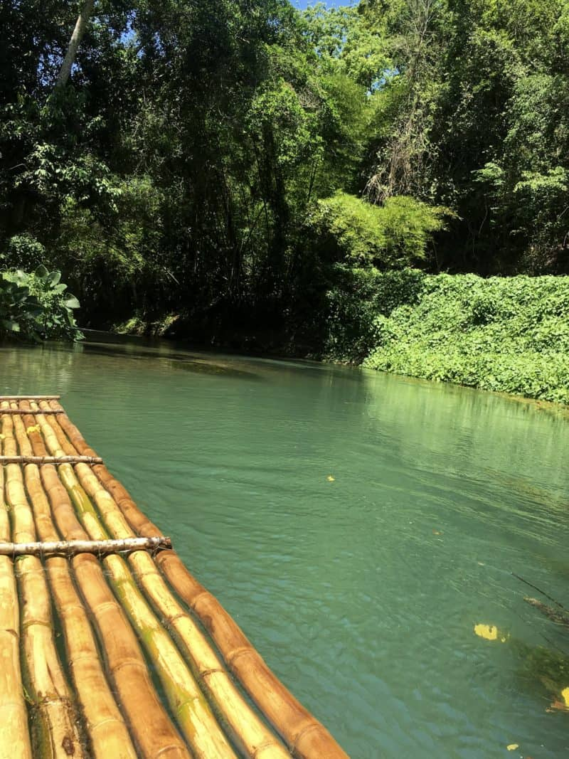Martha Brae River Bamboo Raft