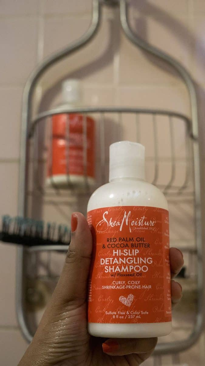 SheaMoisture Red Palm Oil and Cocoa Butter Hi-Slip Detangling Shampoo