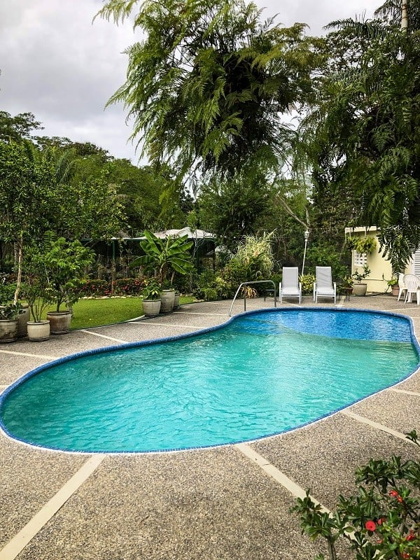 Where to Stay in Trinidad - Pool and Gardens at St Anns Oasis Airbnb in Trinidad