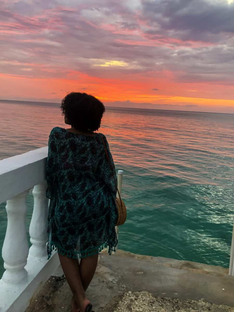 Traveling while in Graduate School - Sunset in Montego Bay, Jamaica